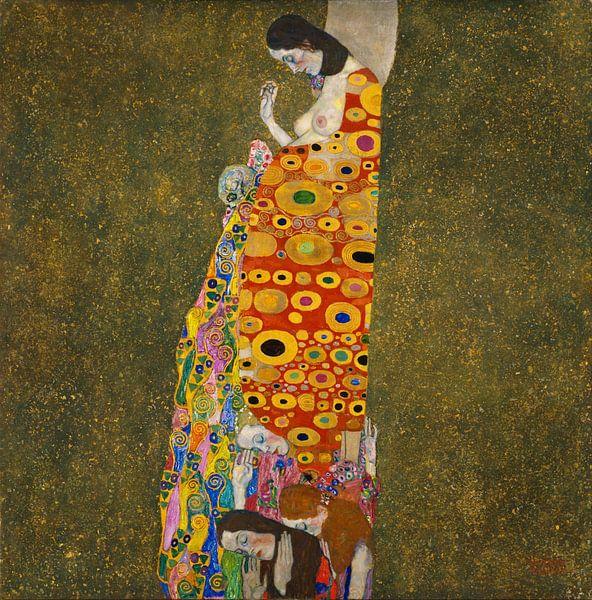 Gustav Klimt. De Hoop, 1905 van 1000 Schilderijen