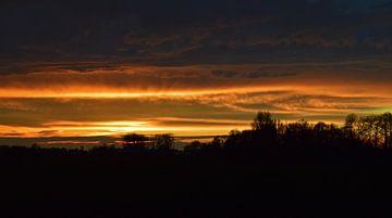 Sonnenuntergang von Leanne van Iersel