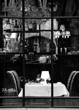 restaurant in Brugges van VH photoart
