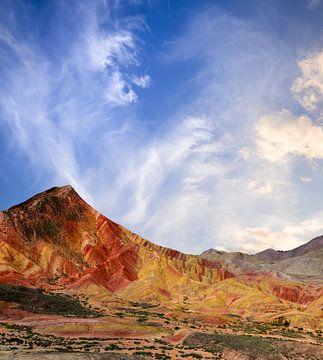 Regenbogengebirge China von Jeroen Mikkers