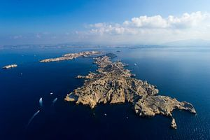 Marseille vu du ciel van