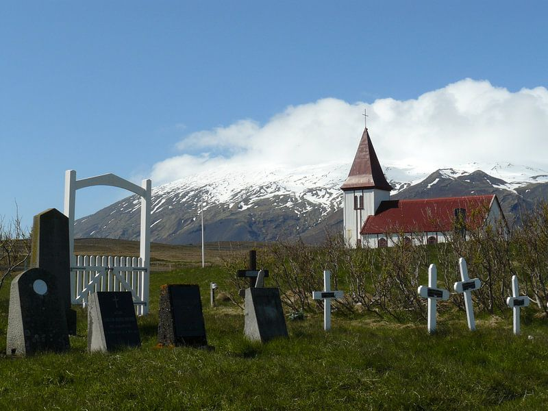 lonely church van Gerwin Hulshof