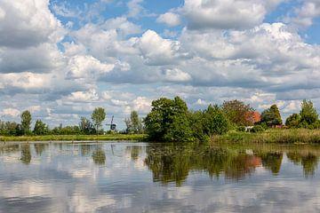 Een Hollands landschap in de zomer von Bram van Broekhoven