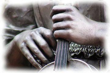 Hände und Geige von Maurice Dawson