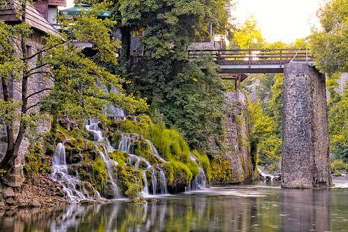 Waterval in Plitvice