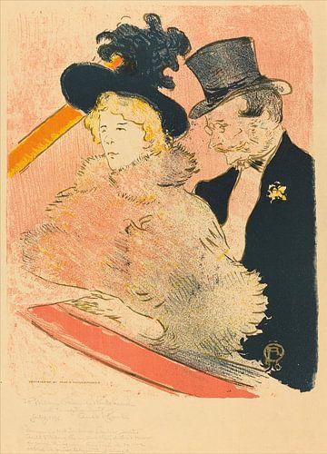 Op het concert, Henri de Toulouse-Lautrec van Liszt Collection