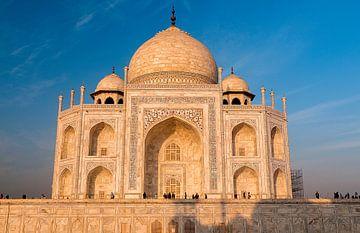 Agra: Taj Mahal van Maarten Verhees