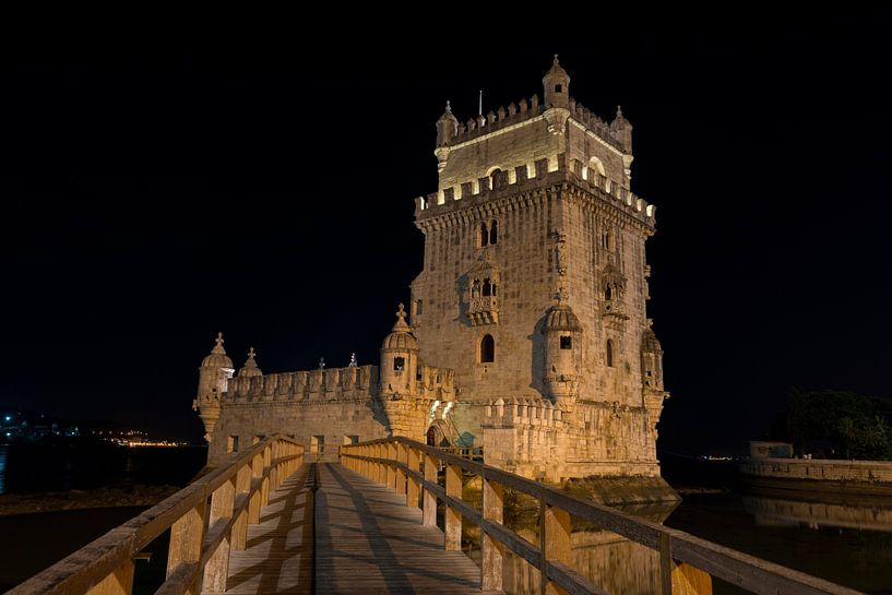 belem tower portugal van Compuinfoto .