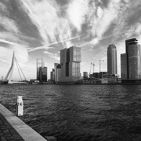 (Sky)Line Kop van Zuid - Rotterdam van Richard Kortland