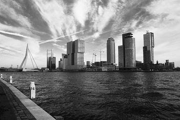 (Sky)Line Kop van Zuid - Rotterdam von Richard Kortland