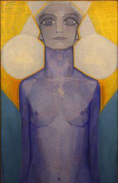 Evolution des Menschen, Piet Mondrian von
