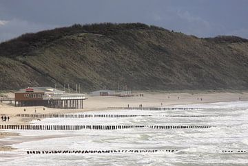 Zoutelande Strand von MSP Canvas