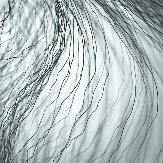 Donkere vezels grijs
