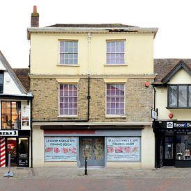 Canterbury | Kent Barbers von Panorama Streetline