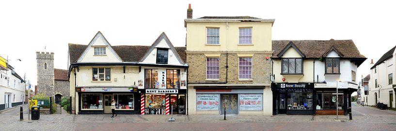 Canterbury   Kent Barbers von Panorama Streetline