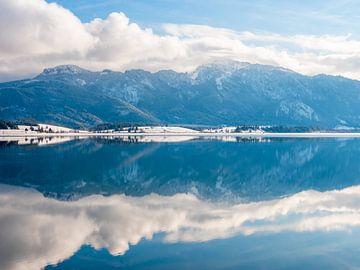 Panorama Forggensee im Allgäu von Mustafa Kurnaz