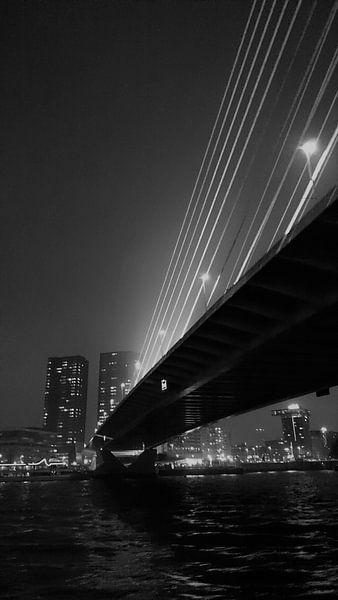 Erasmusbrug Rotterdam von Leonie Vreeswijk-Feith