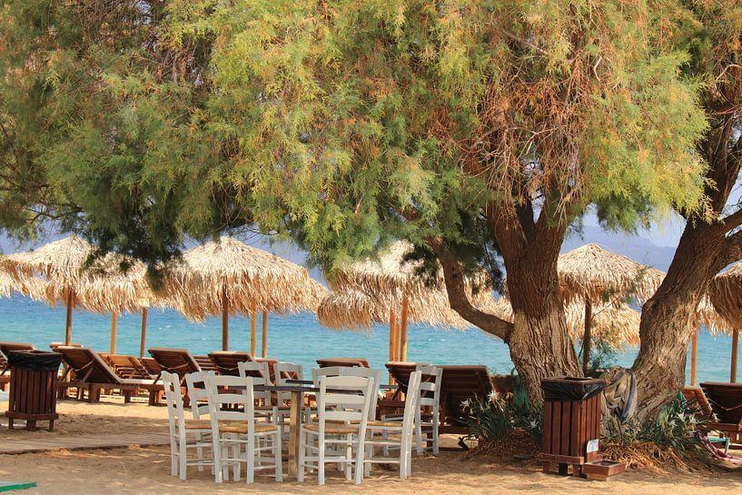 Typisch griechische Szene von Bobsphotography