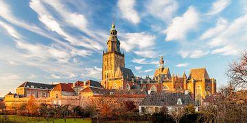 Middeleeuwse vesting in Hanzestad Zutphen van Martin Bergsma