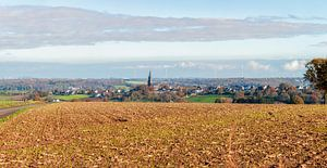 Panorama van Vijlen tijdens de herfst van 2020 van John Kreukniet