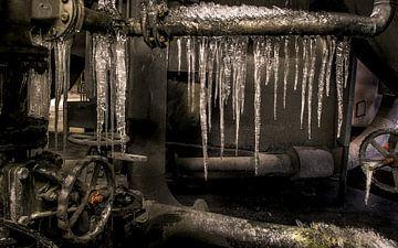 ijspegels in het ovenhuis van wim harwig