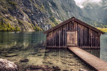 Obersee in Berchtesgadener Land van Maurice Meerten