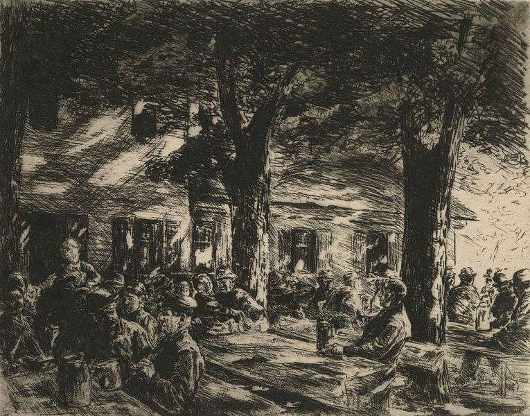 Kellergarten im Rosenheim - 1895 von Atelier Liesjes