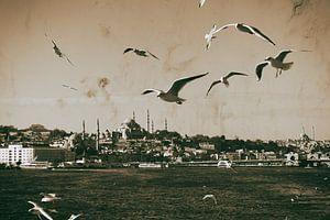 Met een boot op de Bosporus van Caught By Light