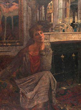 Porträt von Frau Arthur Fontaine, Édouard Vuillard