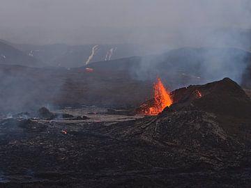 Vulkanausbruch von Timon Schneider