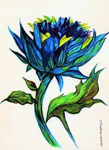 Blauwe distel (1)