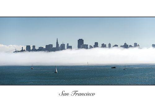 San Francisco in de mist von Wim Slootweg