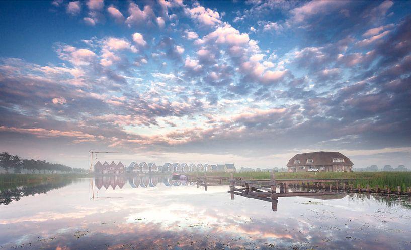 Meerstad in de ochtend van Martijn van Dellen