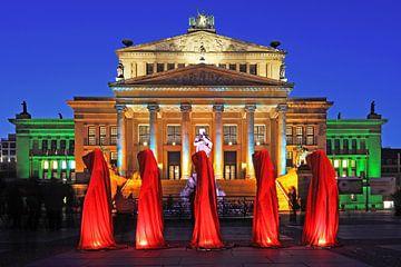 Le marché du travail de Berlin (Gendarmenmarkt) sur Frank Herrmann