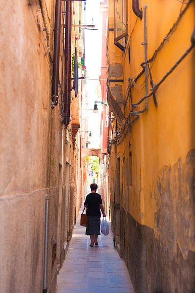 Shopping in Venice Italy van Brian Morgan