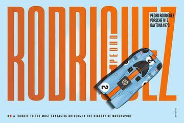 Pedro Rodriguez 917 Tributes van Theodor Decker