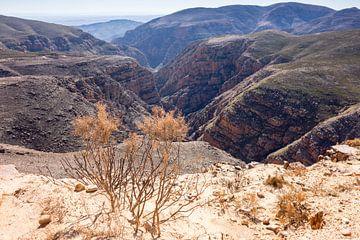 Uitzicht vanaf de Teeberg, Swartbergpas van