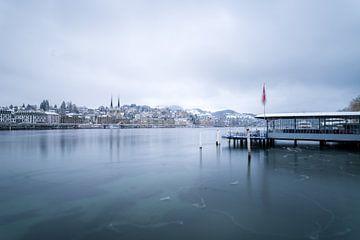 Luzern im Winter sur Severin Pomsel