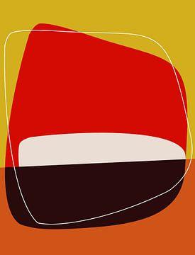 Abstracte samenstelling 1036 van Angel Estevez