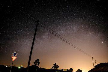 Portugese sterrenhemel van Sjoerd Mouissie