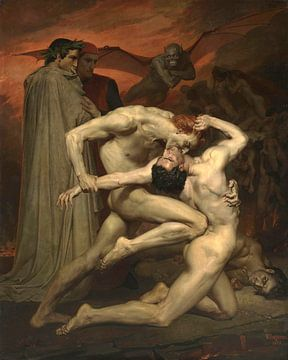 Dante und Virgile, William-Adolphe Bouguereau
