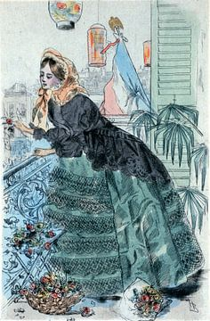 1859, Women's fashion in nineteenth-century Paris, Boutet, Henri (1851-1919), (Artist), 1902 sur