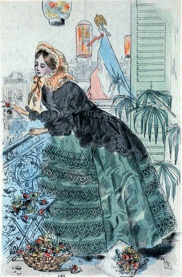 Mode 1859, Mode in het negentiende-eeuwse Parijs, Henri Boutet, (1851 1919)