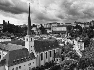 Die Stadt Luxemburg in Luxemburg 1 von Jörg Hausmann