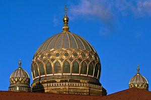 New Synagoge in Berlin van Silva Wischeropp