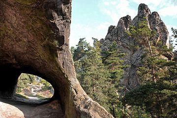 Teufelsmauer bei Timmenrode im Harz