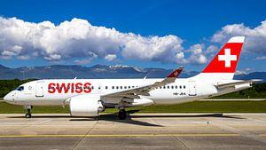 Swiss Airbus 220