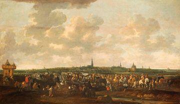 Départ des troupes d'occupation espagnoles de Breda, le 10 octobre 1637, Hendrick de Meijer
