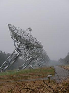 Les radiotélescopes de Westerbork sur L Swinkels