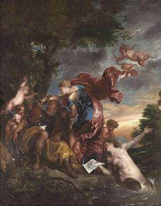Rinaldo und Armida, Anthony van Dyck.